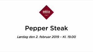 PepperSteakLørdag2