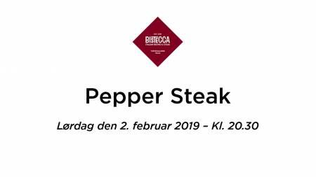 PepperSteakLørdag3