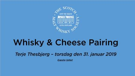 Whisky and cheese guest